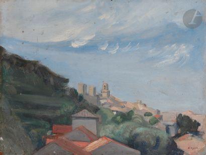 Edmond Charles KAYSER (1882-1965) Village...