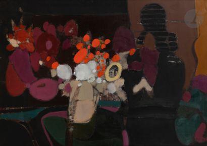 Alfred DEFOSSEZ (né en 1932) Silhouette au...
