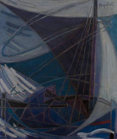 Jean-Claude GUIGNEBERT (1921-?) Les Voiles...