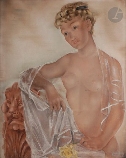 Joséphine BEAUDOUIN (1909-2005) Femme à la...