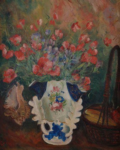Irena Hassenberg dite RENO (1884-1953) Bouquet...