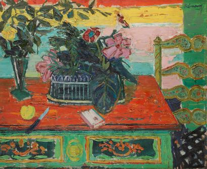 Roger Marcel LIMOUSE (1894-1990) Nature morte,...