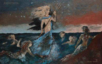 Roland OUDOT (1897-1981) Amphitrita Huile...