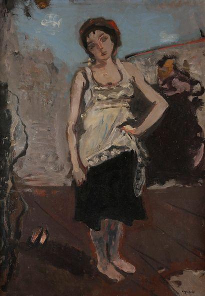 Raymond LEGUEULT (1898-1971) Figure de théâtre...