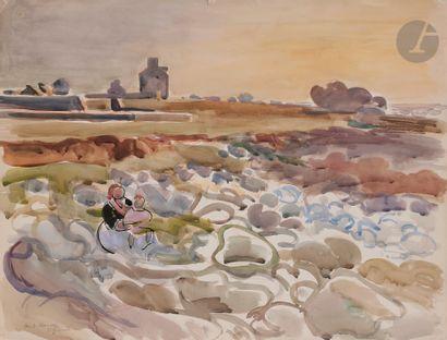 André PLANSON (1898-1981) Les Rochers de...