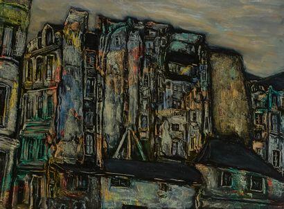 Faïbich Schraga ZARFIN (1899-1975) Immeubles...