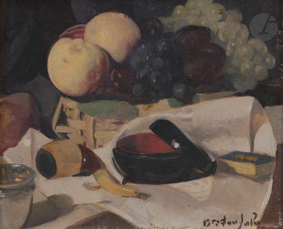 Albert BRAÏTOU-SALA (1885-1972) Fruits et...