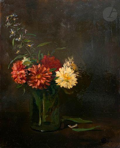 Raymond WOOG (1875-1949) Vase de fleurs,...
