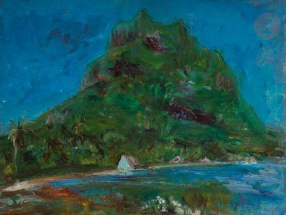 Christian CAILLARD (1899-1985) Otemanu de...