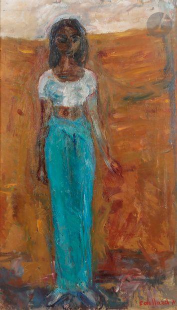 Christian CAILLARD (1899-1985) Jeune fille...