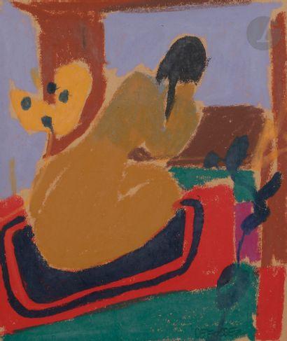 Alfred DEFOSSEZ (né en 1932) Femme nue de...
