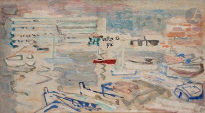 Alexandre Sasha GARBELL (1903-1970) Marine,...