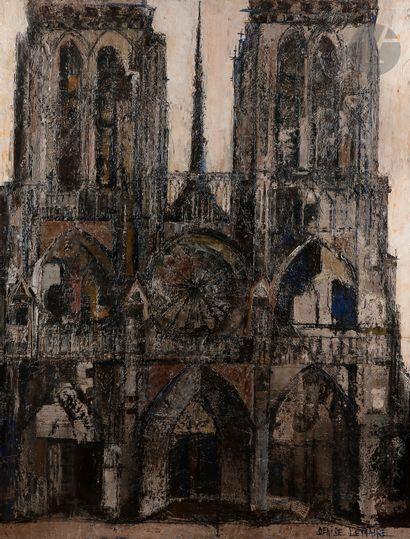 Denise LEMAIRE (née 1925) Notre-Dame de Paris,...