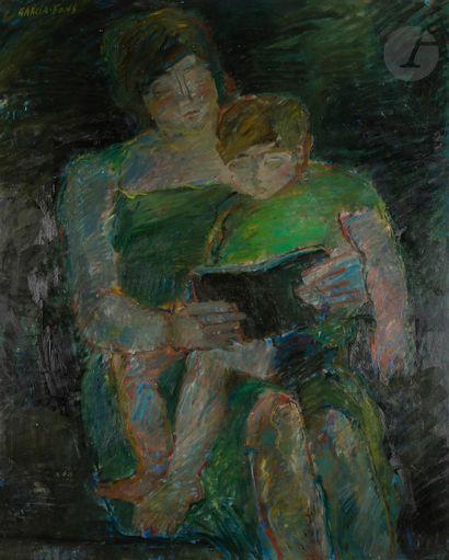 Pierre GARCIA-FONS (1928-2016) Maternité...