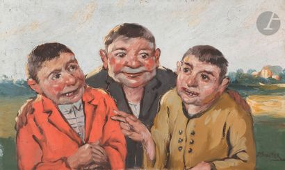 Daniel SABATER Y SALABERT (1888-1951) Trois...