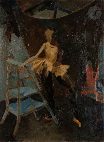 Michel RODDE (1913-2009) La Ballerine Huile...