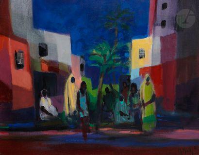 Marcel MOULY (1918-2008) Bousbir de Meknès,...