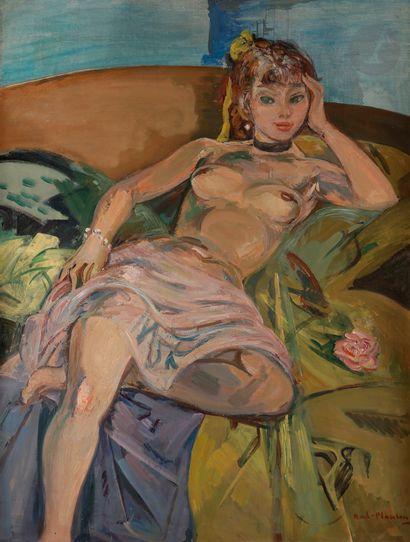 André PLANSON (1898-1981) Rêveuse, vers 1945...
