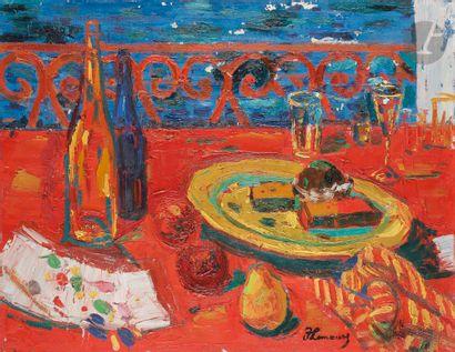 Roger Marcel LIMOUSE (1894-1990) Nature morte...