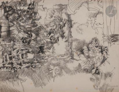 Raymond LEGUEULT (1898-1971) Le Bois aux...