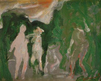 Paul GUIRAMAND (1926-2007) Les Nus dans...