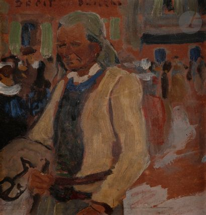 Adolphe-Marie BEAUFRÈRE (1876-1960) Breton...