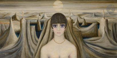 Roland BOURIGEAUD (1920-?) Hermance, 1969...