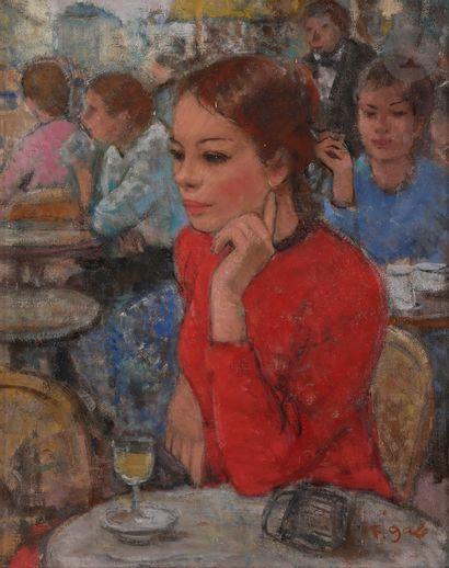 François GALL (1912-1987) Madame Gall à la...