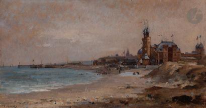 Fanny Laurent FLEURY (1848-1920) Le Casino...