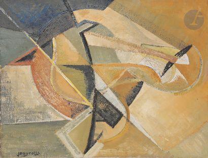 Jean DEYROLLE (1911-1967) En commun, 1946-47...