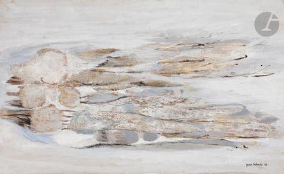 Yasse TABUCHI [japonais] (1921-2009) Composition,...