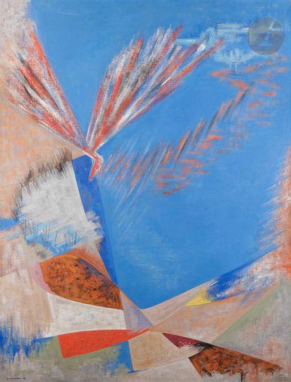 James PICHETTE (1920-1996) L'Oiseau-feu de...