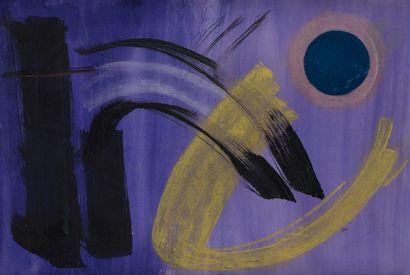 Gérard SCHNEIDER (1896-1986) Composition...