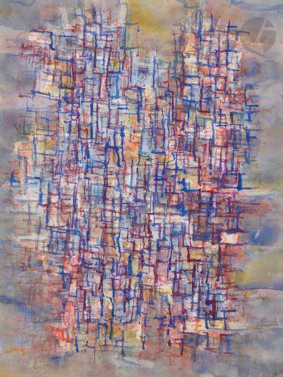 Jean CORTOT (1925-2018) Composition, 1959...