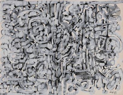 Ladislas KIJNO (1921-2012) Composition, 1960...