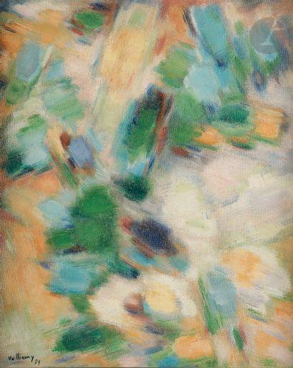 Gérard VULLIAMY (1909-2005) Composition,...