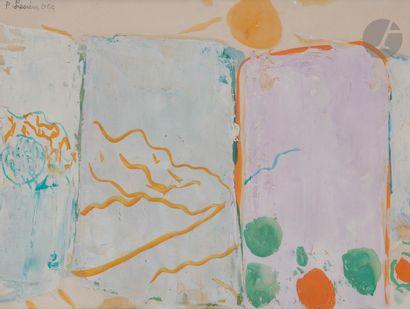 Pierre LESIEUR (1922-2011) Composition au...