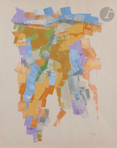 Orlando PELAYO (1920-1990) Composition, vers...