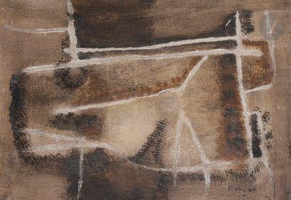 Jacques DUTHOO (1910-1960) Composition, 1958...