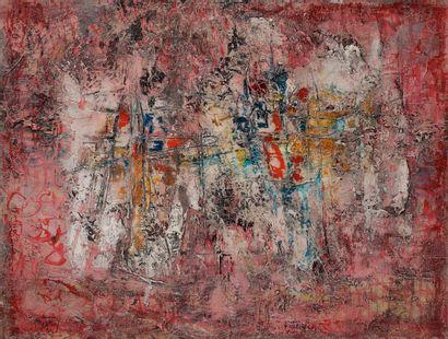Jean RUSTIN (1928-2013) Composition, 1961...