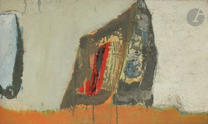Albert BITRAN (1931-2018) Sans titre, 1958...