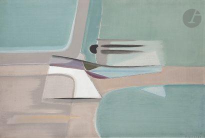 Jean PIAUBERT (1900-2002) Eau Vive, 1952...
