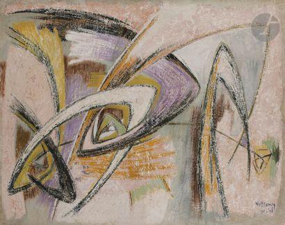 Gérard VULLIAMY (1909-2005) La Carriole,...