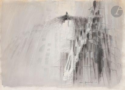 Cesare PEVERELLI [italien] (1922-2000) Composition,...