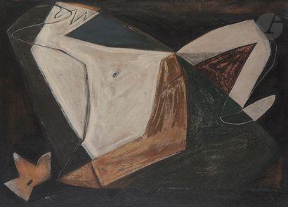 Gaston Louis ROUX (1904-1988) Composition,...