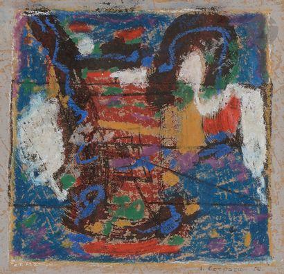 Antonio CORPORA (1909-2004) Composition,...