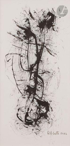 Paul-Armand GETTE (né en 1927) Composition,...