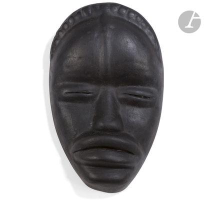 ROGER CAPRON (1922-2006) (ATTRIBUÉ À) Masque...