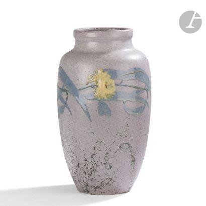 HENRI-LÉON-CHARLES ROBALBHEN (1862-1906) (HENRI LAURENT-DESROUSSEAUX, DIT) Fleurs...
