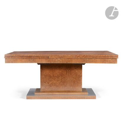 TRAVAIL DES ANNÉES 1930 Importante table...